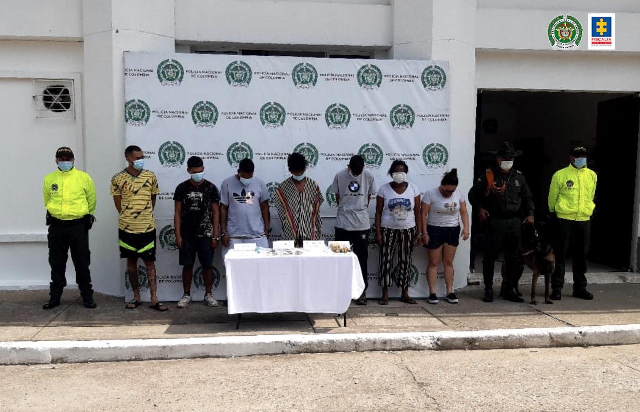 A la cárcel siete presuntos integrantes de una estructura delincuencial dedicada al tráfico de estupefacientes - Noticias de Colombia