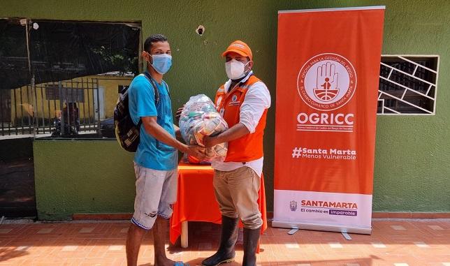 Alcaldía avanza en la entrega de asistencia humanitaria - Noticias de Colombia