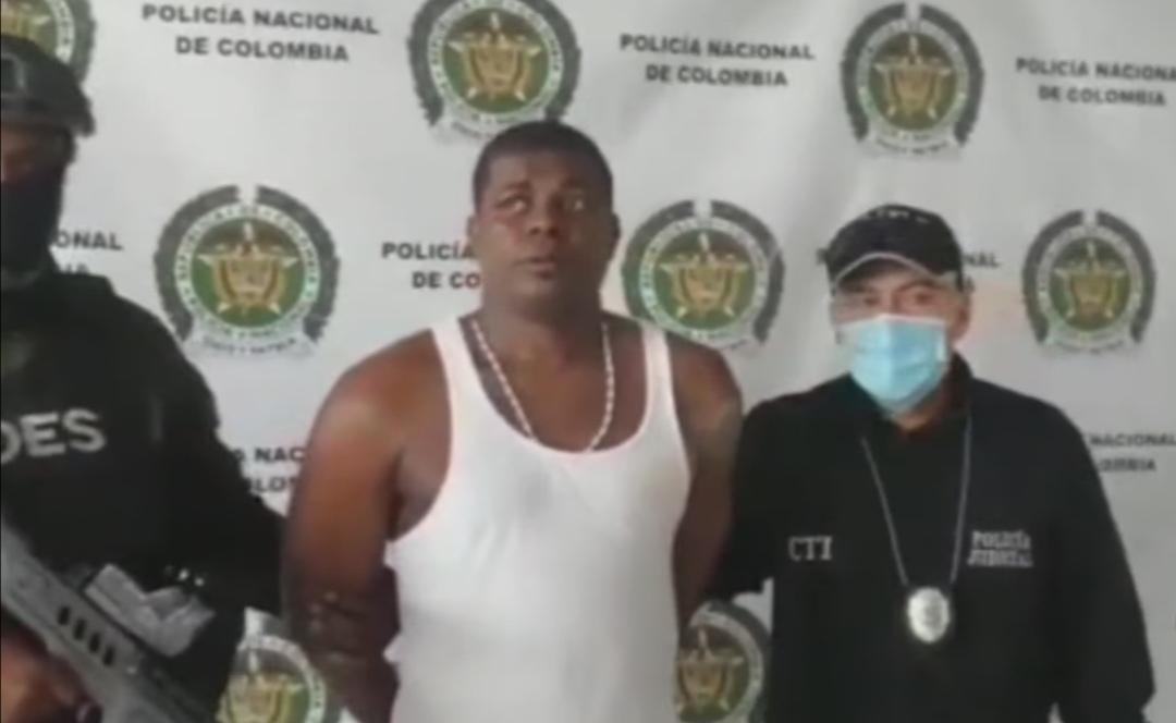 Alias ´´pepe´´ fue capturado en medio de un operativo por parte de la Policía de Buenaventura