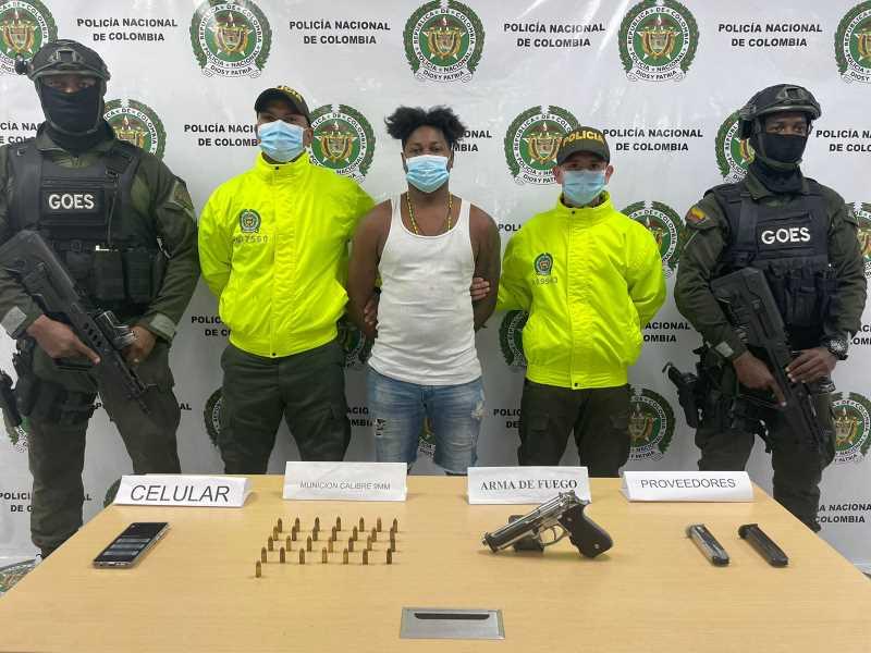 """Capturaron a """"Yeison o Penco"""" integrante de facción de los espartanos en Buenaventura"""