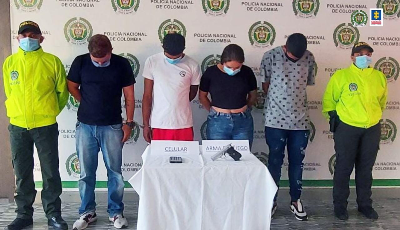 Asegurados cuatro presuntos integrantes de 'Los Monos', estarían implicados en 13 hechos delictivos en Buga - Noticias de Colombia