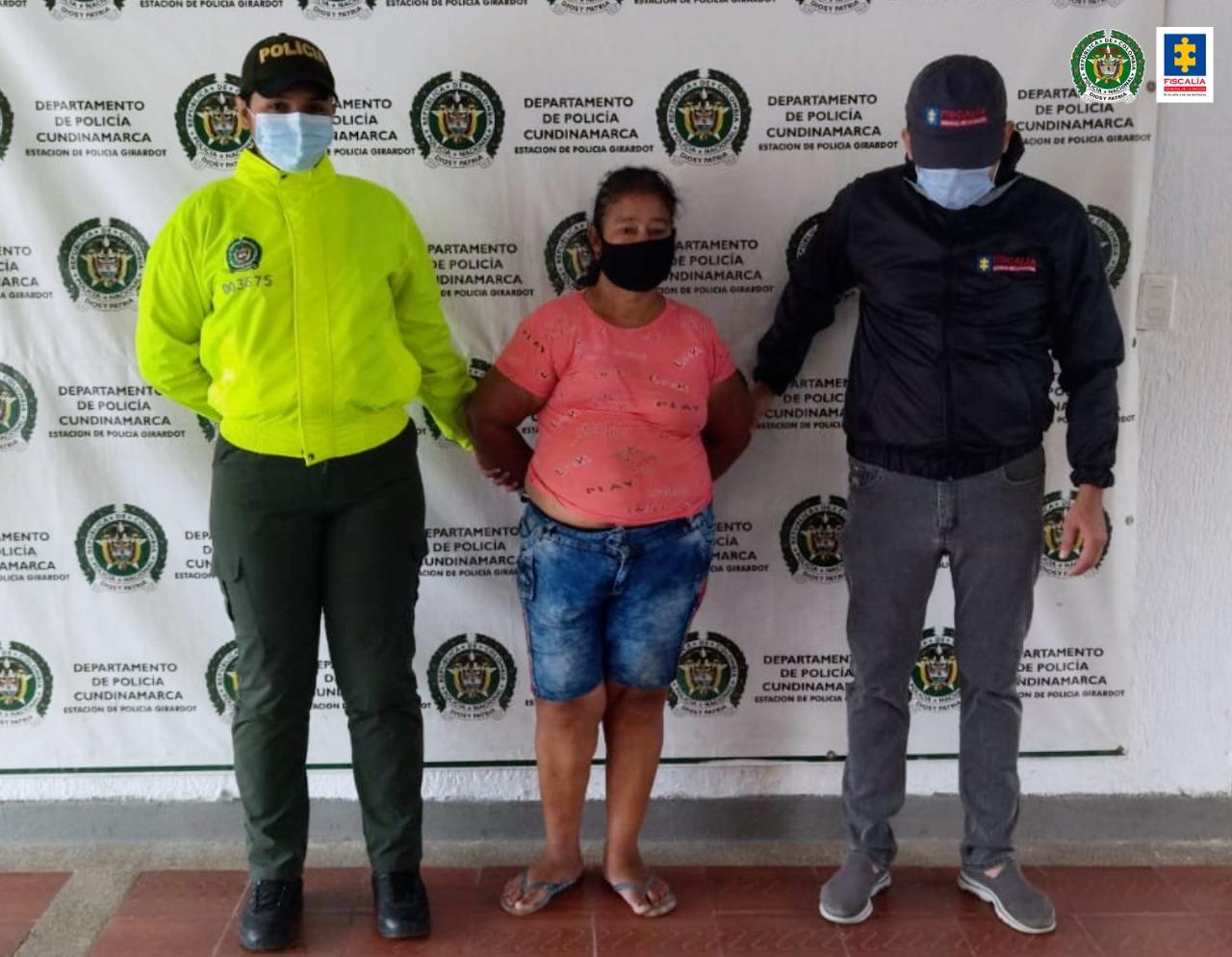 CTI Cundinamarca capturó una mujer que violó media de aseguramiento domiciliaria - Noticias de Colombia