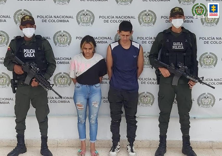 Capturados presuntos responsable de extorsión a un comerciante de Aguachica - Noticias de Colombia