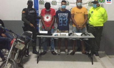 Cárcel para presuntos integrantes de 'El combo del negro over', banda dedicada altráfico de estupefacientes en Barranquilla (Atlántico) - Noticias de Colombia
