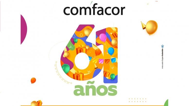 Comfacor celebra este miércoles sus 61 aniversario - Noticias de Colombia