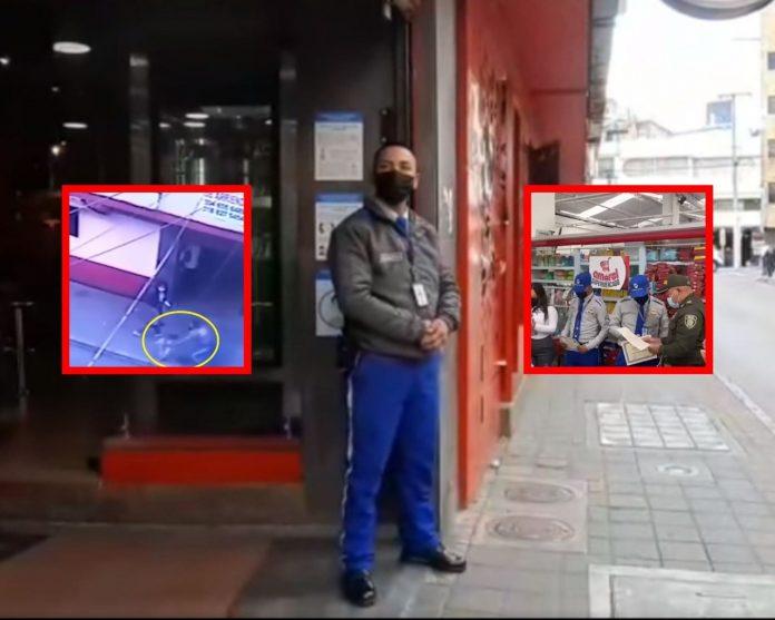 Condecoraron a Hámilton Vallejo, vigilante que salvó a una niña en las afueras de un centro comercial en Pasto - Noticias de Colombia