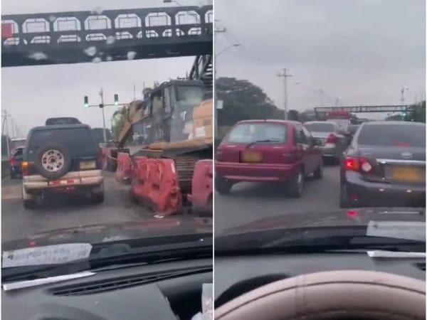 """Conductores denuncian que a pesar de """"puentes, agentes y semáforos"""", continúan los atascos en la vía Cali-Jamundí - Noticias de Colombia"""