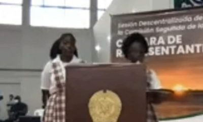 """Desgarrador relato de líder estudiantil sobre la violencia en Chocó: """"Nosotros no conocemos la paz"""""""