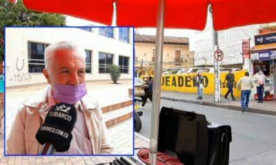 Don Hernán y sus más de 30 años como 'tramitador mecanógrafo', un oficio que se niega a desaparecer en Pasto