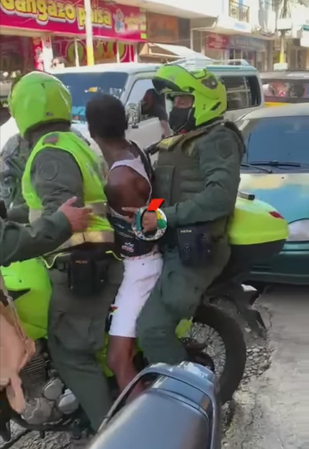Dos hombres fueron capturados por presunto acto delincuencial en Buenaventura