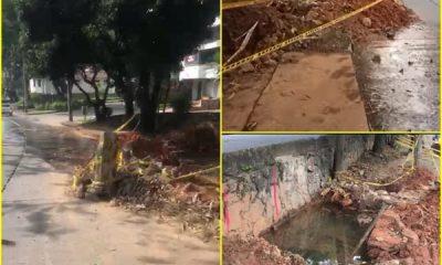 Durante el último mes se ha desperdiciado agua en el oeste de Cali debido a fallas en las tuberías, Emcali dice que el daño no se muestra.