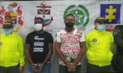 Duro golpe a la banda delincuencial ´´La Local´´ por parte de las autoridades locales