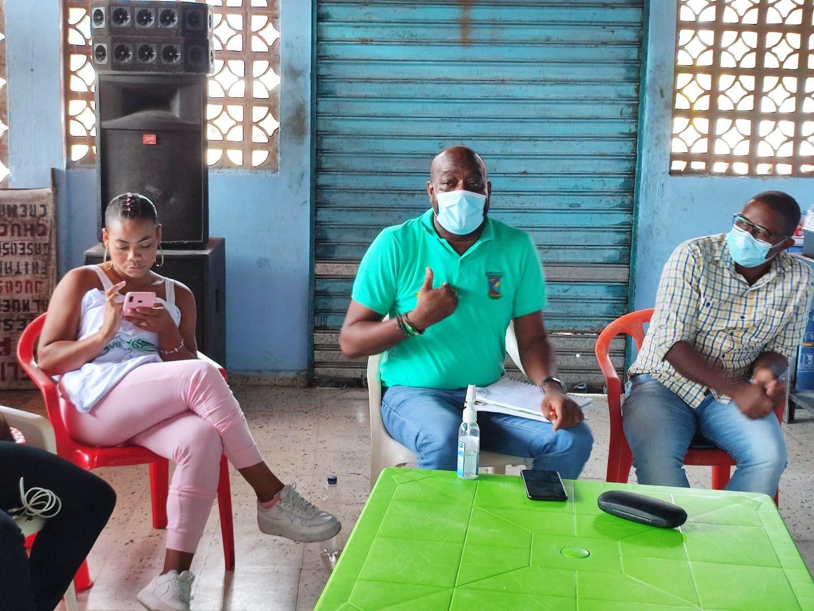 El mandatorio local hizo presencia en el corregimiento de Triana y escuchó las problemáticas de la comunidad