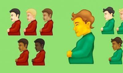 El emoji de 'hombre embarazada' y 'persona embarazada' también podría usarse como 'una forma irónica de mostrar un bebé de comida, un estómago muy lleno causado por una comida abundante