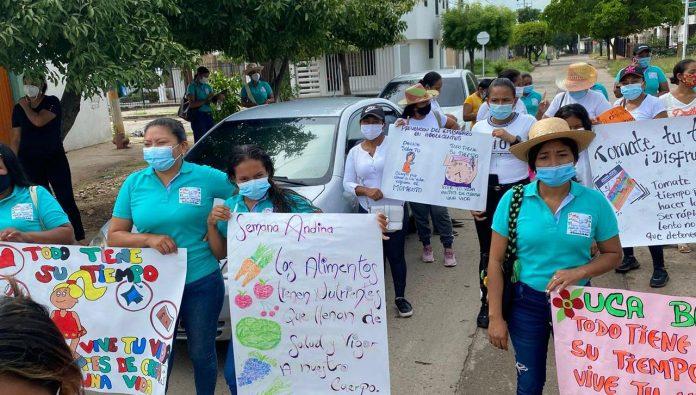 Diferentes actividades se realizaron en Barrancas, en donde participaron el Instituto Colombiano de Bienestar Familiar y la alcaldía de Barrancas.
