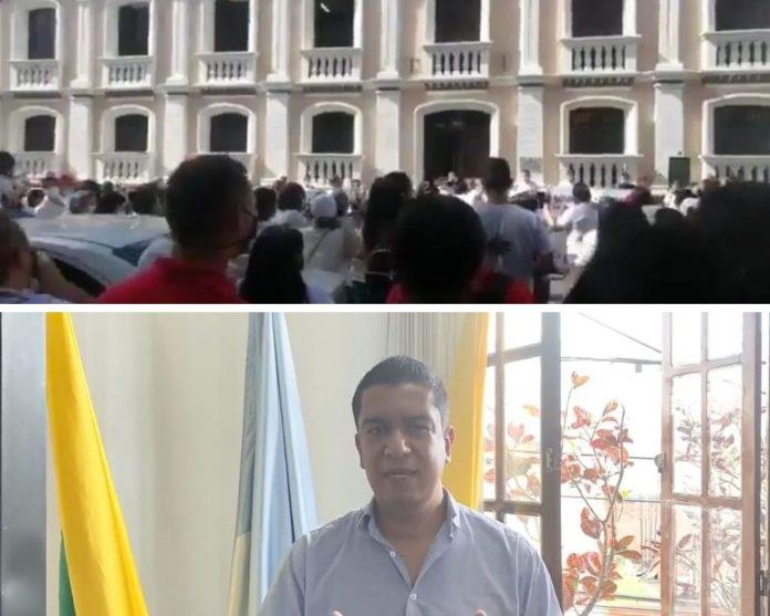 En Buga quieren lecciones en las escuelas pero el sindicato ha interpuesto una tutela y un juez suspendió la asistencia - Noticias de Colombia