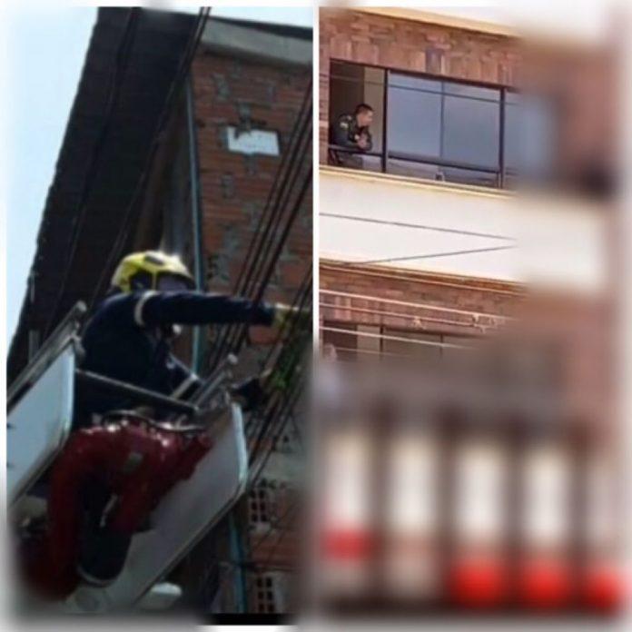En Cali: sobrevivió a la caída de 4 metros, estaba reparando el techo de su casa - Noticias de Colombia