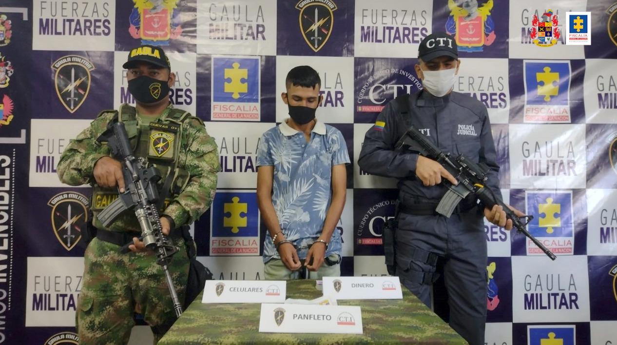 En Florencia (Caquetá) cae sujeto que presuntamente extorsionaba a nombre de las Farc - Noticias de Colombia