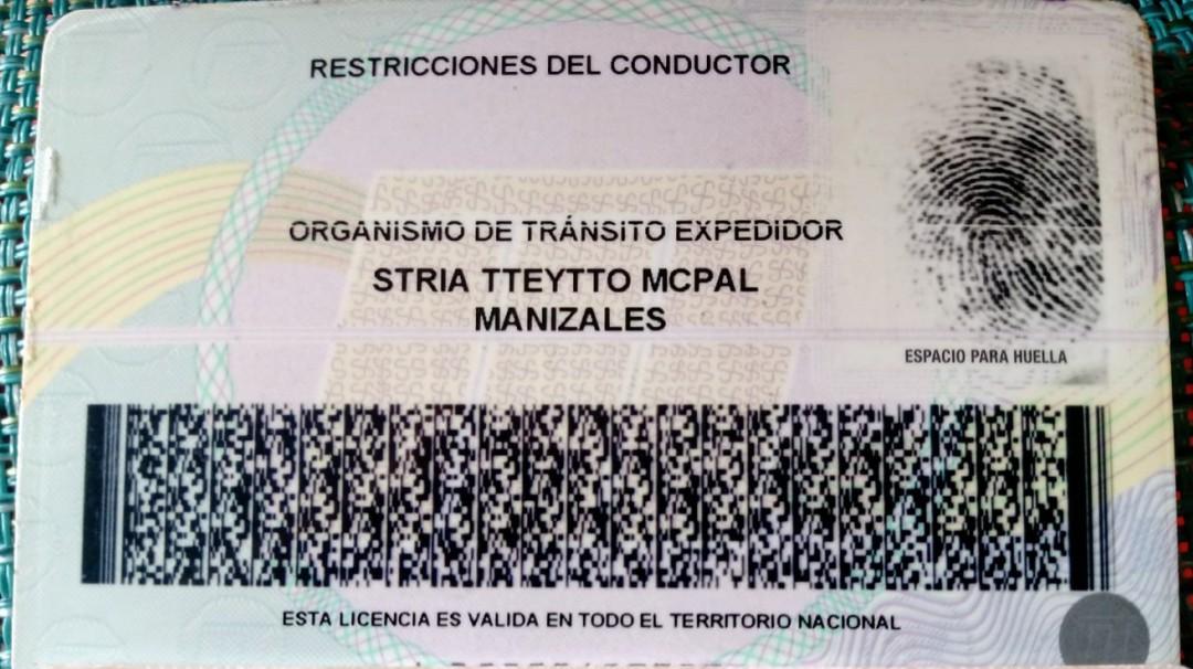 En Manizales se deben renovar 80.000 licencias de conducción - Noticias de Colombia