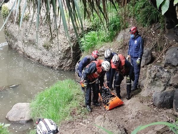 En zona de frontera hallaron un cuerpo sin vida en avanzado estado de descomposición