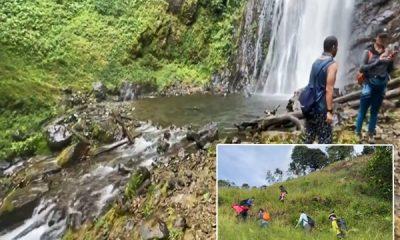 En la cascada '3H', donde nace el río Meléndez, puedes llegar a ella en guala, caminar y disfrutar
