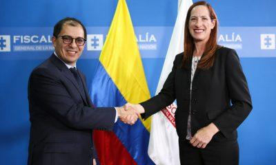 Es muy importante continuar fortaleciendo la cooperación judicial con Estados Unidos: Fiscal General de la Nación, Francisco Barbosa Delgado - Noticias de Colombia