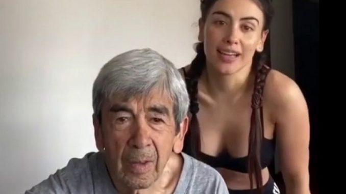 Está en hogar geriátrico, Jessica Cediel lloró al contar que su padre padece de Parkinson - Noticias de Colombia