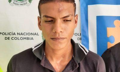 Este hombre sería uno de los responsables de la incineración de la alcaldía del municipio de la plata y asonada contra la estación de policía. - Noticias de Colombia