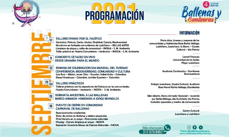 Festival Mundial de Ballenas y Cantaoras - Noticias de Colombia