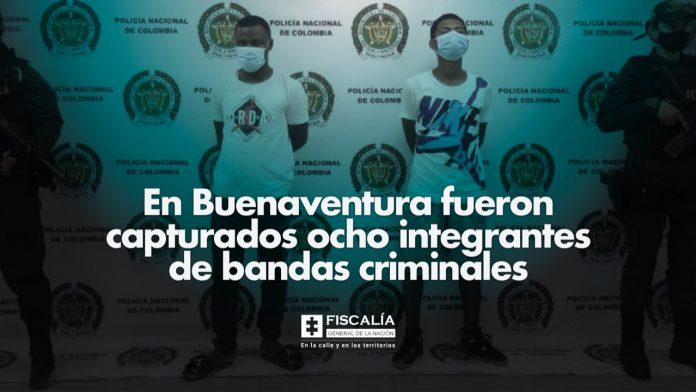 Fiscal Barbosa: En Buenaventura fueron capturados ocho integrantes de bandas criminales - Noticias de Colombia