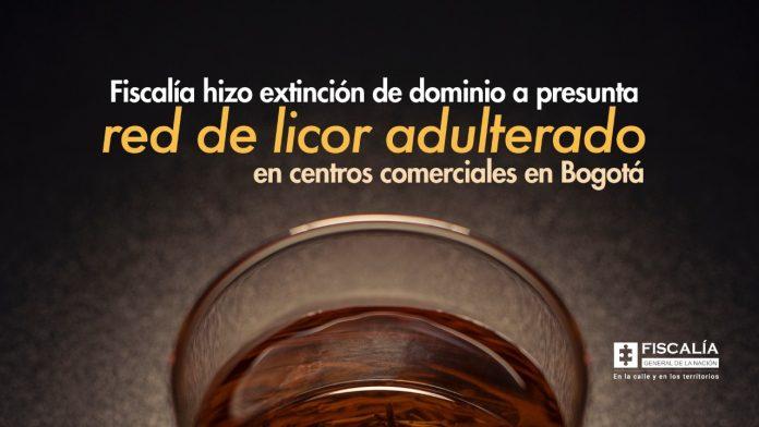 Fiscalía hizo extinción de dominio a presunta red de licor adulterado en centros comerciales en Bogotá - Noticias de Colombia