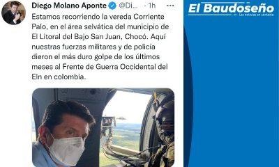 Fue abatido alias 'Fabián', cabecilla del Eln en el departamento del Chocó: Mindefensa. - Noticias de Colombia