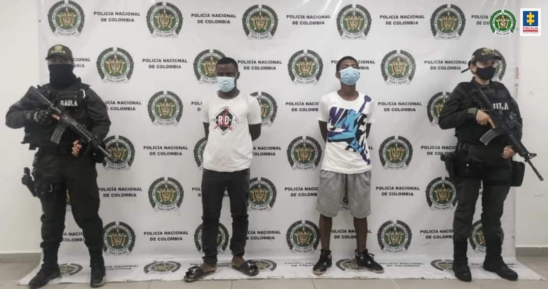 Fueron capturados dos presuntos integrantes a la subdivisión de la banda ´´La Local´´.