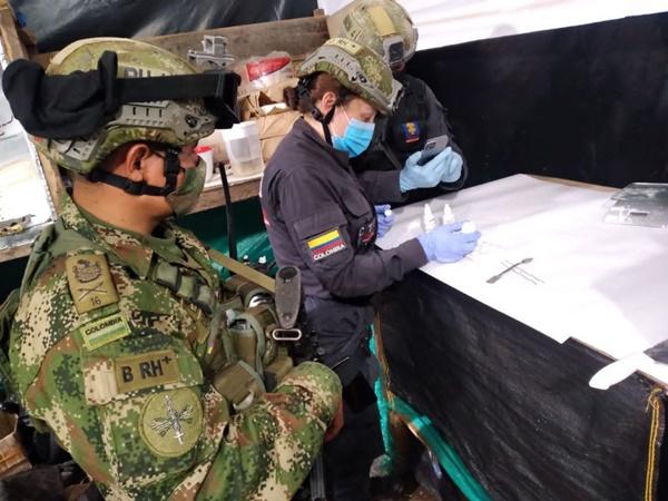 Golpe al narcotráfico: En Samaniego destruyen dos laboratorios con tres toneladas de droga