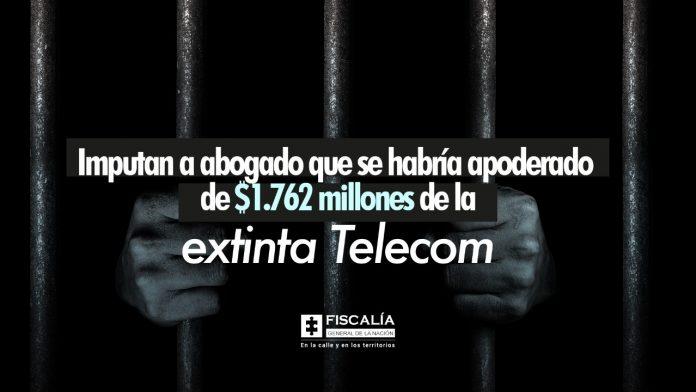 Imputan a abogado que se habría apoderado de $1.762 millones de la extinta Telecom