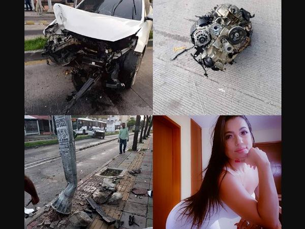 Influencer y otras dos personas resultaron heridas en accidente de tránsito en Barranquilla - Noticias de Colombia