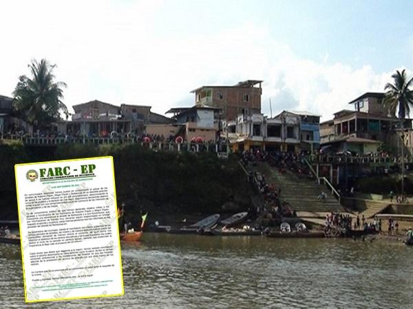 Investigan procedencia de panfleto de las Farc-Ep que amenaza a tres alcaldes de Nariño