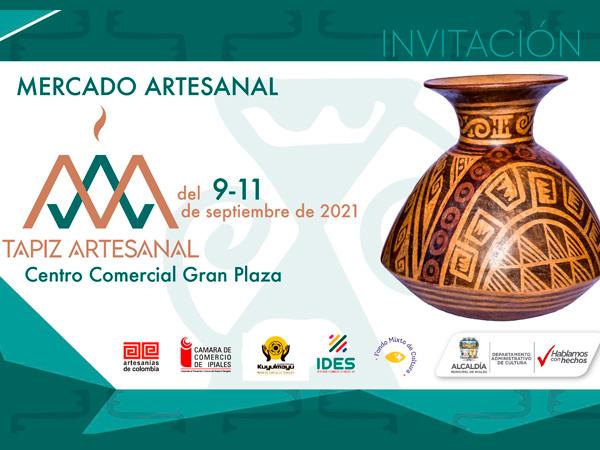 En Ipiales se celebrará una feria artesanal que busca apoyar la reactivación económica del sector