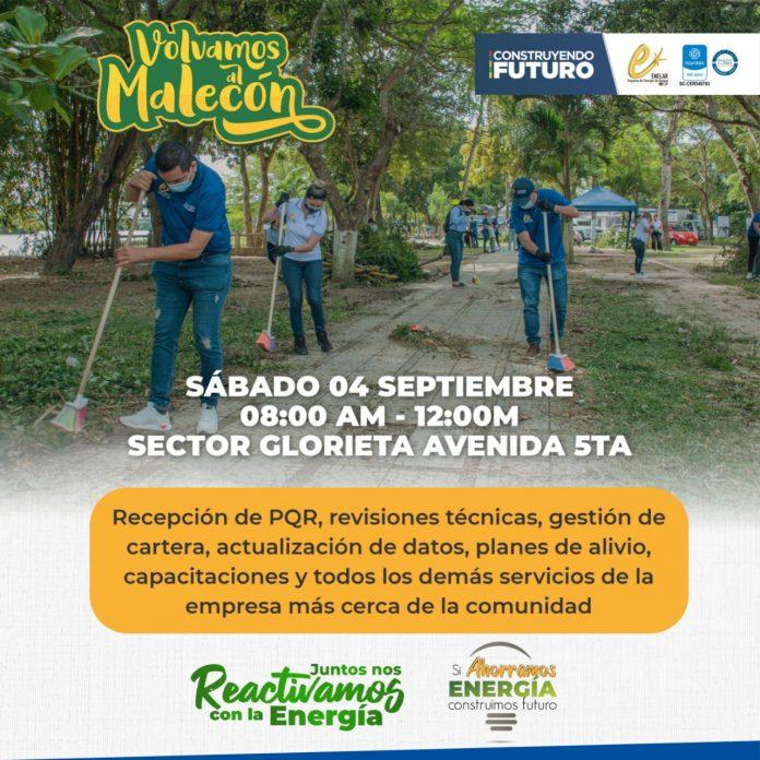 Jornada comercial y sorteos de ENELAR ESP se adelantarán este sábado en el marco de la campaña Volvamos al Malecón - Noticias de Colombia