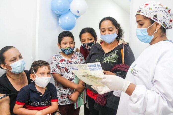 Jornada de vacunación de esquema regular en centros de salud - Noticias de Colombia