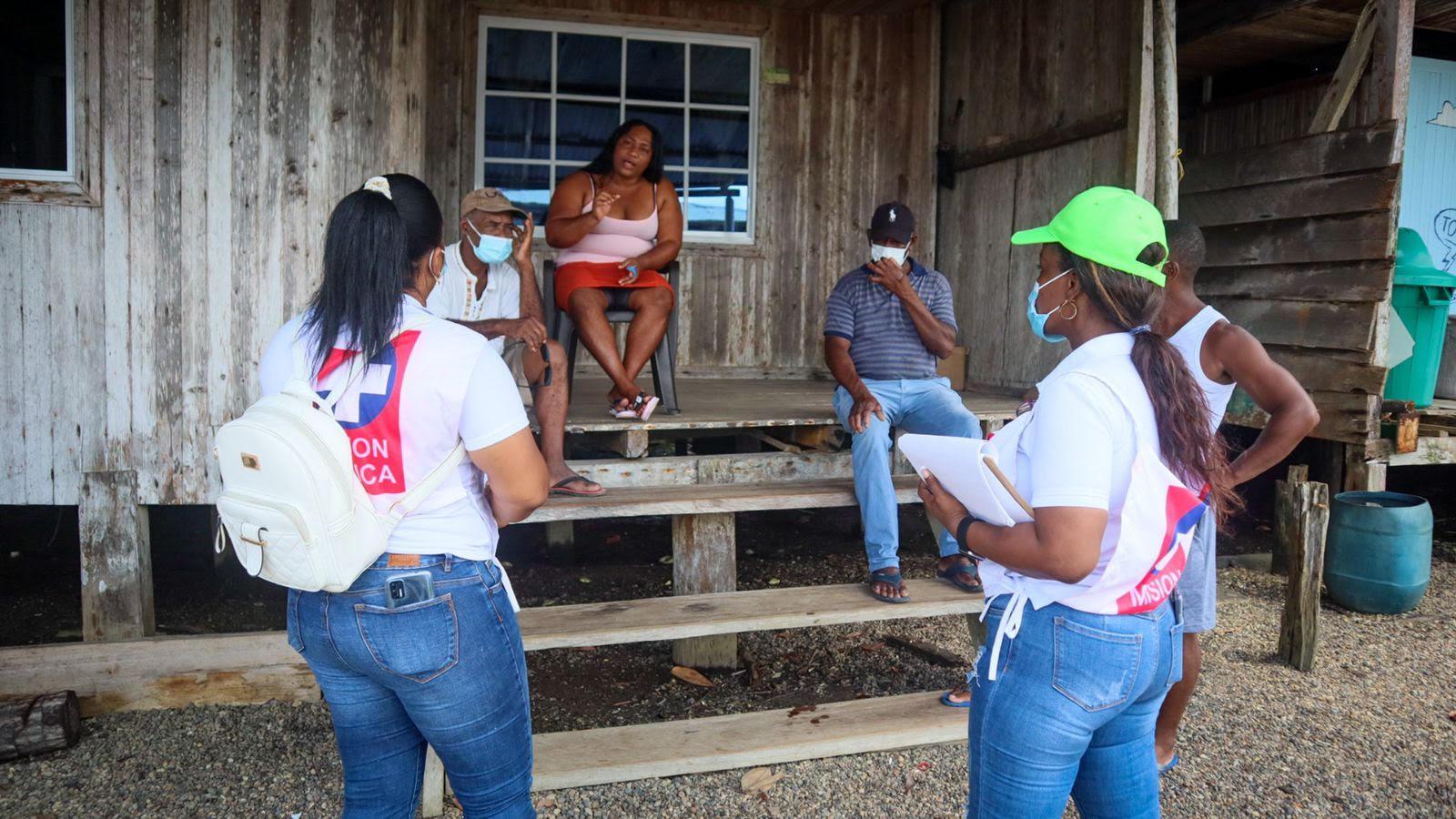 Juanchaco recibe jornada de salud a toda su comunidad