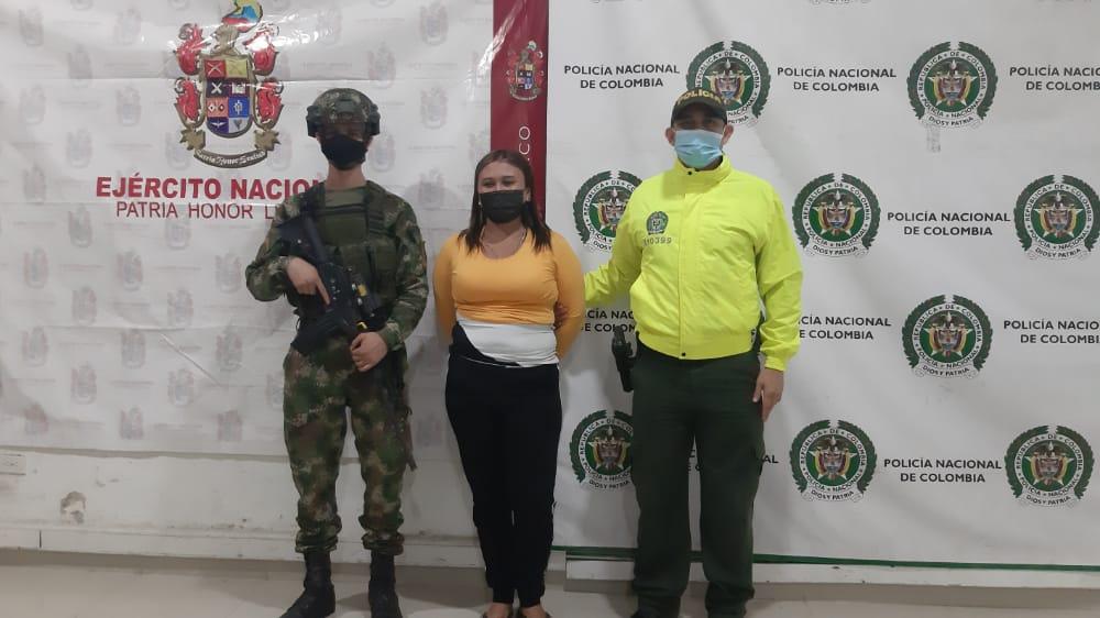 Judicializada la presunta responsable de entregar y ocultar las armas a los grupos de sicarios del 'Clan del Golfo' en Córdoba