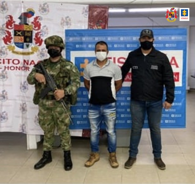 Judicializan a un hombre por presuntamente hacer parte de un Grupo de Delincuencia Organizado - Noticias de Colombia