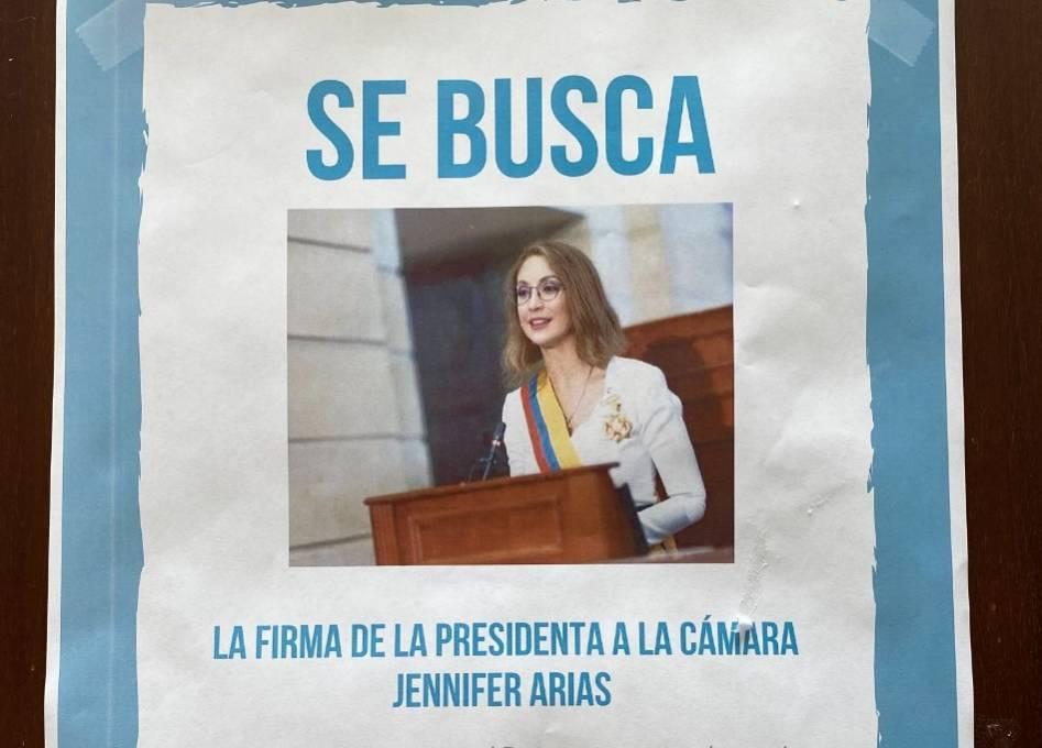 La fuerte polémica entre Gabriel Santos y Jennifer Arias en la que debió intervenir Álvaro Uribe