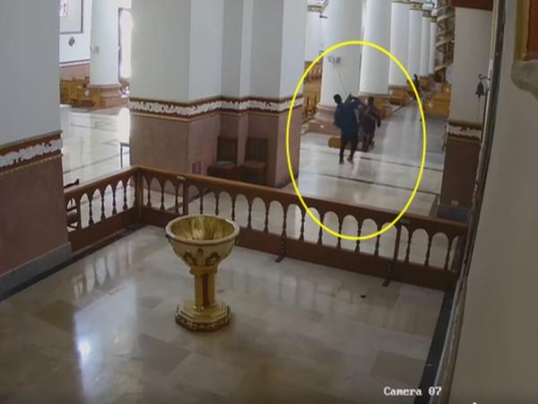 El templo al cual los ladrones se la 'montaron' y hasta las mesas se roban, en Nariño