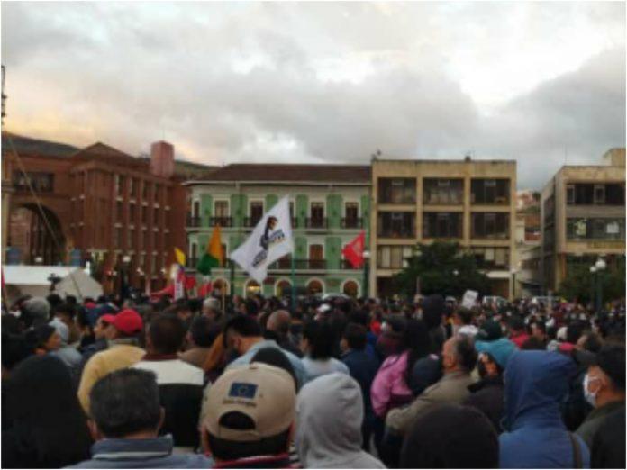Plaza de Nariño Petro Pasto