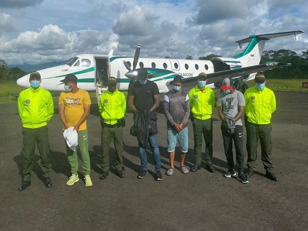 La organización de 'El Zarco' sacaba la droga de Tumaco, pasaban por el Pacifico y luego a aguas internacionales