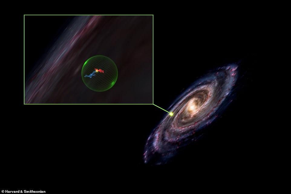 Los astrónomos descubrieron una cavidad en el espacio que se extiende a una distancia de casi 500 años luz, pero no están seguros de cómo se formó.
