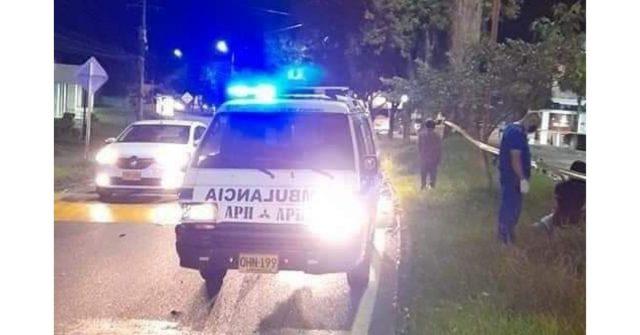 Motociclista de 25 años murió en trágico accidente de tránsito en el norte de Armenia