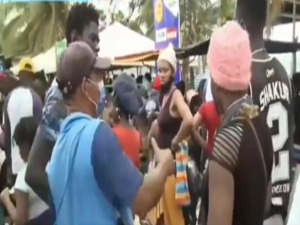 Muchos de los ciudadanos haitianos que han salido del Valle y Nariño siguen represados en Antioquia